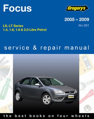 Image for Ford Focus LS & LT 2005-09 (04291) Gregory's Automotive Repair Manual
