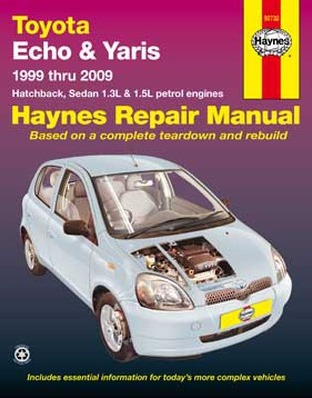 Image for Toyota Echo & Yaris 1999-2009 (92732) Haynes Automotive Repair Manual