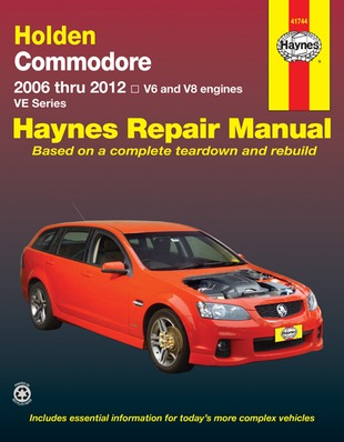 Image for Holden Commodore VE Series V6 & V8 2006-2012 (41744) Haynes Automotive Repair Manual