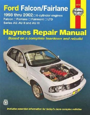 Image for Ford Falcon/Fairlane AU Series 1998-2002 6 cylinder (36733) Haynes Automotive Repair Manual