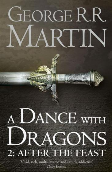 Image for A Dance with Dragons: Part 2 After the Feast #5 A Song of Ice and Fire [used book]