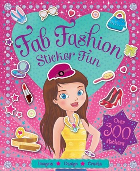 Image for Fab Fashion Sticker Fun: Imagine Design Create, over 300 stickers