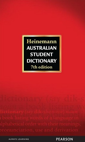 Image for Heinemann Australian Student Dictionary Seventh Edition