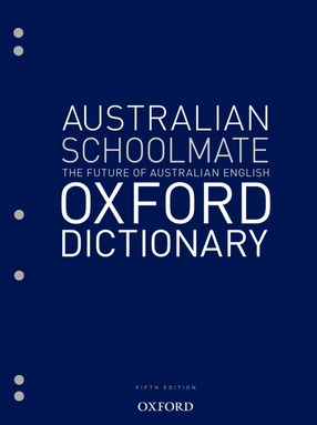 Image for Australian Schoolmate Oxford Dictionary Fifth Edition