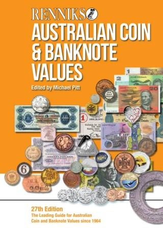 Image for Renniks Australian Coin and Banknote Values 27th Edition 2016 - The Coin Collector's Reference Guide