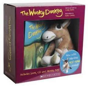 Image for The Wonky Donkey book and plush toy boxed set *** OUT OF STOCK ***