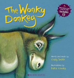 Image for The Wonky Donkey (includes CD)