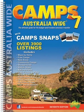 Image for Camps Australia Wide 7 with camps snaps [spiral bound edition]