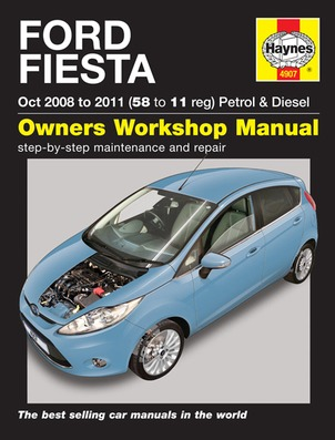 Image for Ford Fiesta 2008-2011  (4907) Haynes Automotive Repair Manual