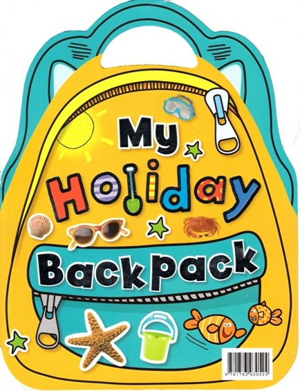 Image for My Holiday Backpack: Activity Book