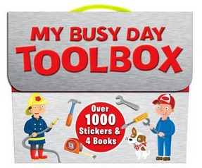Image for My Busy Day Toolbox: Over 1000 Stickers & 4 Books