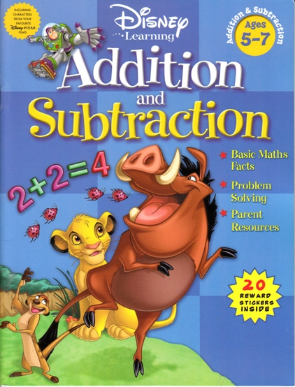 Image for Addition and Subtraction Activity Book: Disney Learning