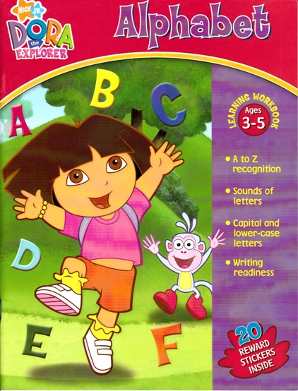 Image for Dora the Explorer Alphabet: Learning Workbook ages 3-5