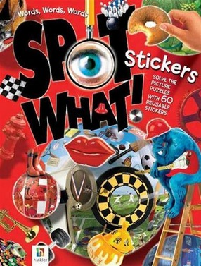 Image for Words, Words, Words Spot What! Stickers Book *** Out of Stock ***