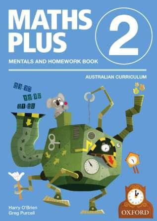 Image for Maths Plus Mentals and Homework Book 2: Australian Curriculum Edition