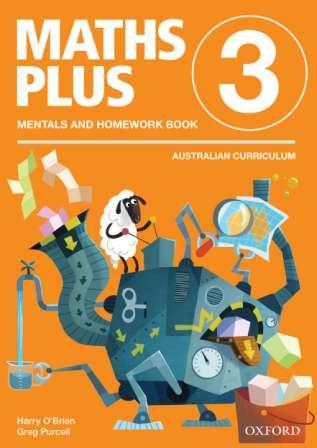 Image for Maths Plus Mentals and Homework Book 3: Australian Curriculum Edition