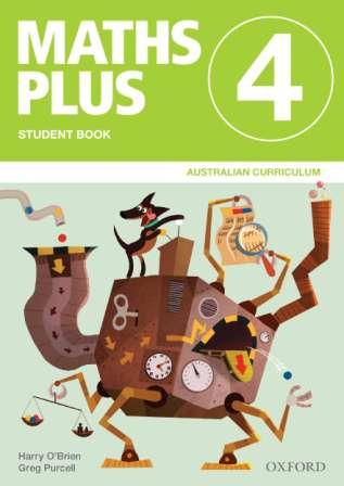 Image for Maths Plus Student Book 4 Value Pack: Australian Curriculum Edition (includes Student Book 4 + Assessment Book 4)