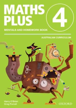 Image for Maths Plus Mentals and Homework Book 4: Australian Curriculum Edition