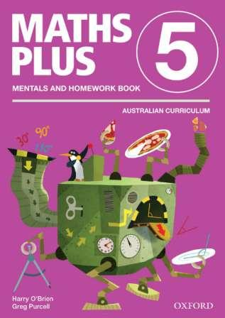 Image for Maths Plus Mentals and Homework Book 5: Australian Curriculum Edition