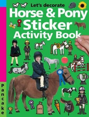 Image for Horse & Pony Sticker Activity Book