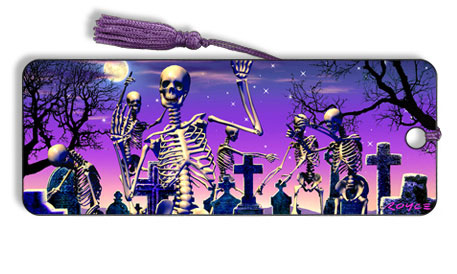 Image for Moonlight Boogie Skeletons motion effect 3D Bookmark