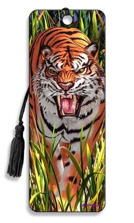 Image for Tiger Trouble 3D Bookmark