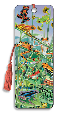 Image for Hanging Around Frogs 3D Bookmark