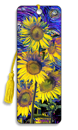 Image for Sunflowers 3D Bookmark