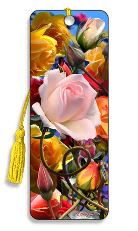 Image for Roses 3D Bookmark
