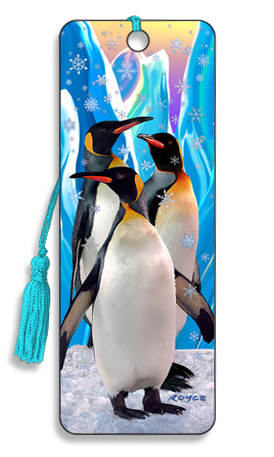 Image for Snowflakes Penguins 3D Bookmark