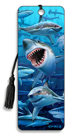 Image for Wish You Were Here Sharks 3D Bookmark