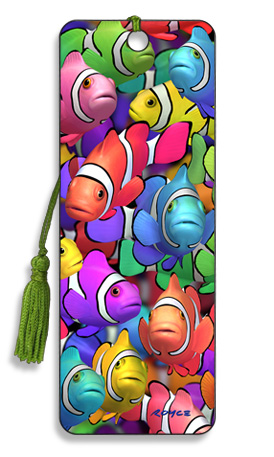 Image for Clown School Clown Fish 3D Bookmark