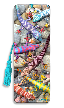 Image for Geckos 3D Bookmark