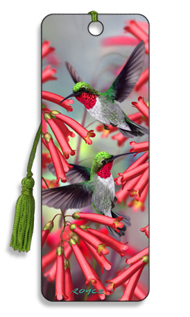 Image for Hummingbirds 3D Bookmark