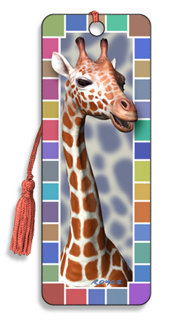 Image for Giraffe 3D Bookmark