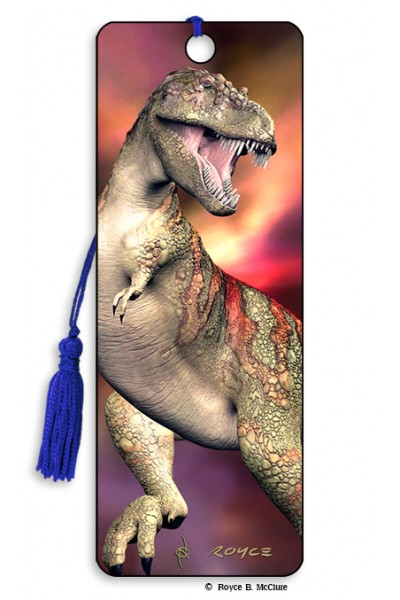 Image for T-Rex Dinosaur flip effect 3D Bookmark