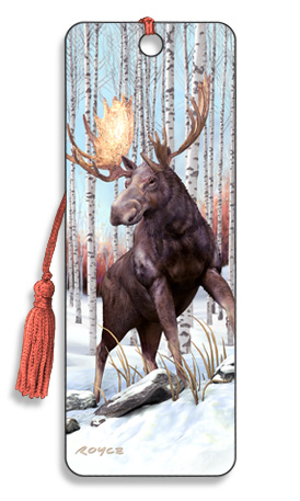 Image for Moose 3D Bookmark
