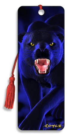 Image for Panther 3D Bookmark