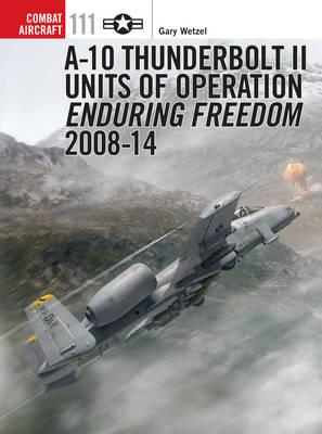 Image for A-10 Thunderbolt II Units of Operation Enduring Freedom 2008-14 #111 Combat Aircraft