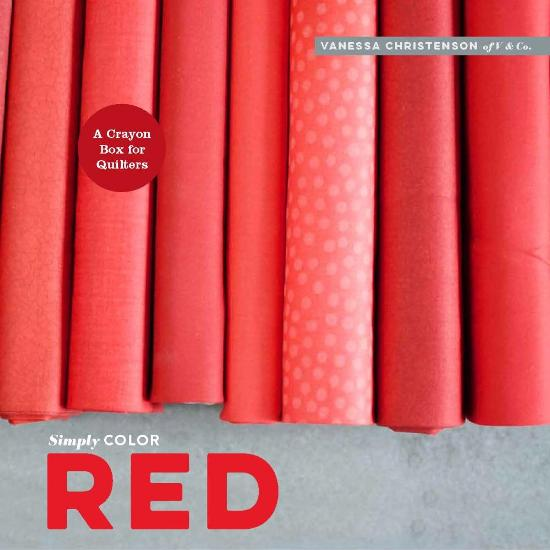 Image for Simply Color Red: A Crayon Box for Quilters