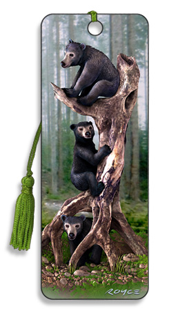 Image for Black Bears 3D Bookmark
