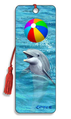 Image for Beachball Dolphin 3D Bookmark