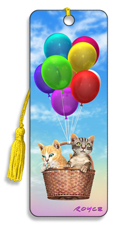 Image for Kitty Up 3D Bookmark
