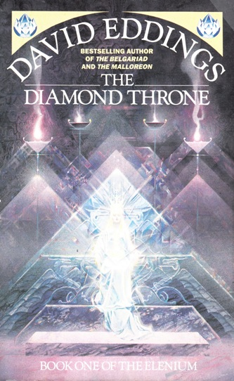 Image for The Diamond Throne #1 Elenium [used book]