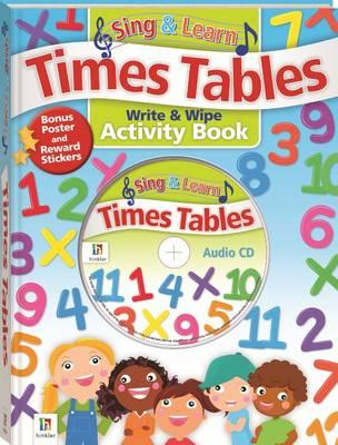 Image for Sing & Learn: Times Tables Write & Wipe Activity Book + CD and Pen