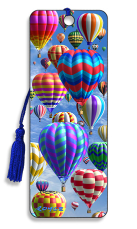 Image for Hot Air Balloon 3D Bookmark