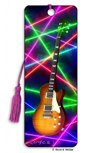 Image for Guitars flip effect 3D Bookmark