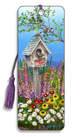 Image for Birdhouse 3D Bookmark