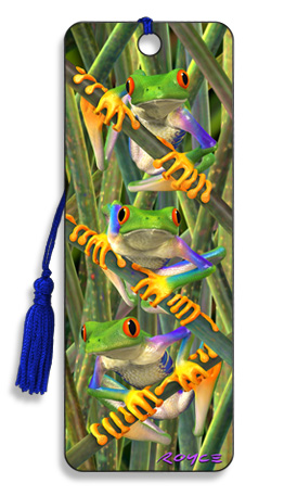 Image for Tree Frogs 3D Bookmark