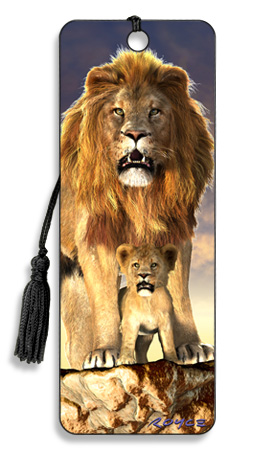 Image for Lion 3D Bookmark